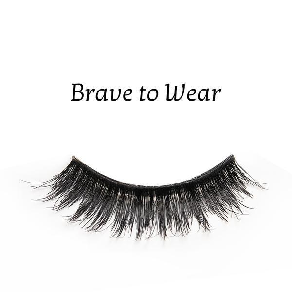 Gene false banda par natural Splendor Lashes Brave to Wear imagine produs