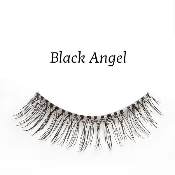 Gene false banda par natural Splendor Lashes Black Angel imagine produs
