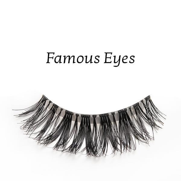 Gene false banda par natural Splendor Lashes Famous Eyes imagine produs