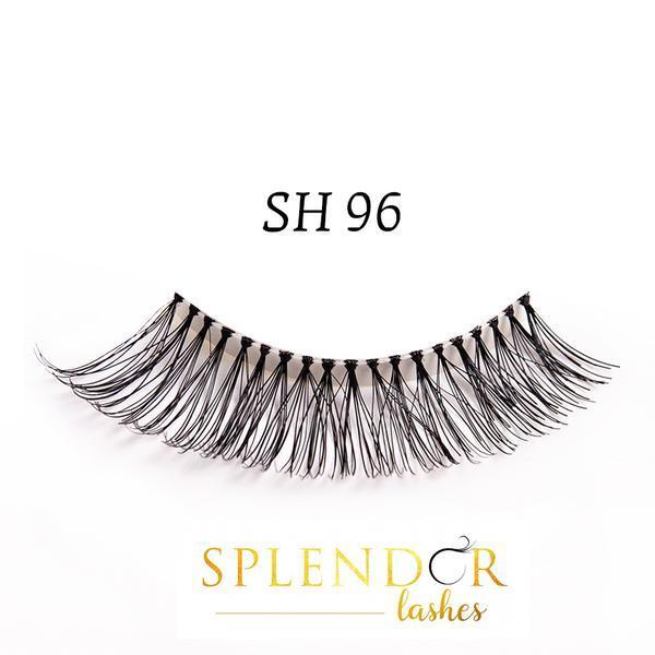 Gene false din par natural tip banda Splendor Lashes SH 96 imagine produs
