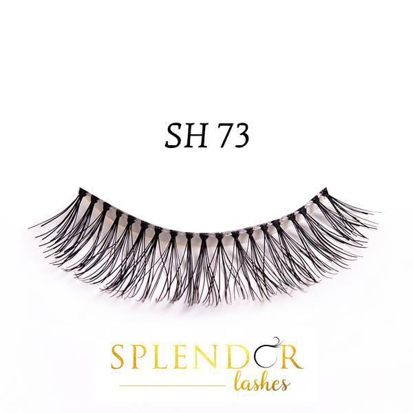 Gene false din par natural tip banda Splendor Lashes SH 73 imagine produs