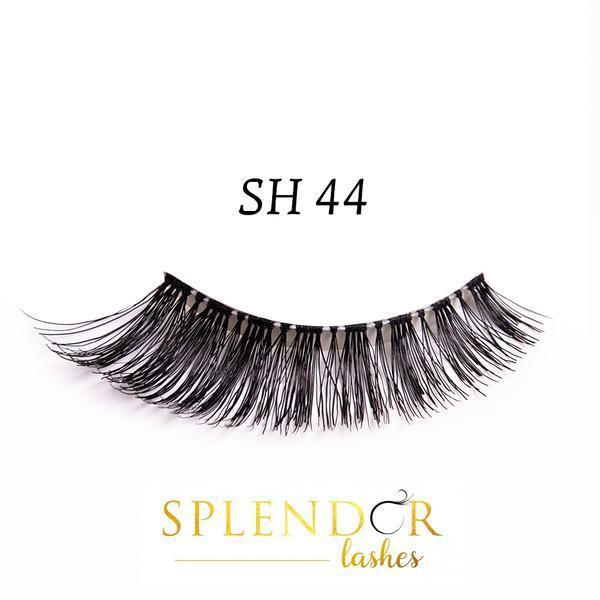 Gene false din par natural tip banda Splendor Lashes SH 44 imagine produs