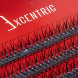 Gene false smocuri Excentric Silk Lashes 120 buc marimea M