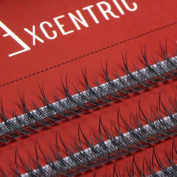 Gene false smocuri Excentric Silk Lashes 120 buc marimea S imagine produs