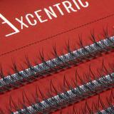 Gene false smocuri Excentric Silk Lashes 120 buc marimea S