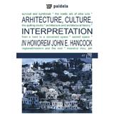 Arhitecture, Culture, Interpretation, editura Paideia