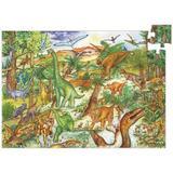 Puzzle observație dinozauri - Djeco