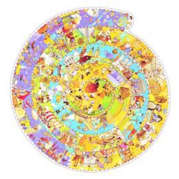 Puzzle observație - evoluție - Djeco