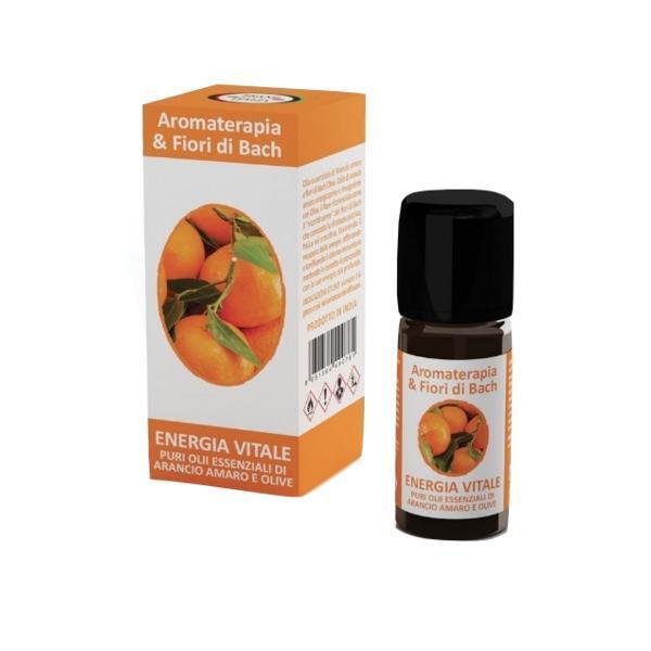 Ulei esential Aromaterapie Energie Vitala Flori de Bach Pur 100% Brand Italia 10 ml imagine produs