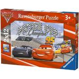 Puzzle cars, 2x12 piese - Ravensburger