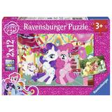 Puzzle micul meu ponei, 2x12 piese - Ravensburger