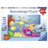 Puzzle acvatic, 2x24 piese - Ravensburger