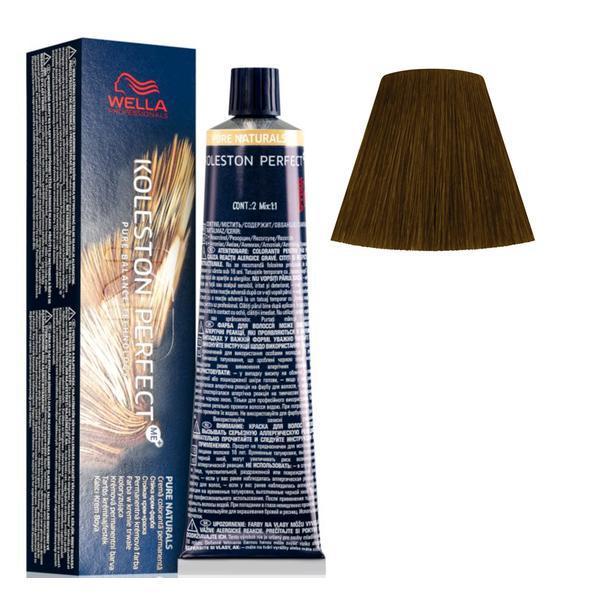 Vopsea Crema Permanenta - Wella Professionals Koleston Perfect ME+ Pure Naturals, nuanta 66/0 Blond Inchis Intens poza