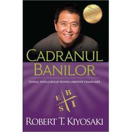 Cadranul banilor - Robert T. Kiyosaki, editura Curtea Veche