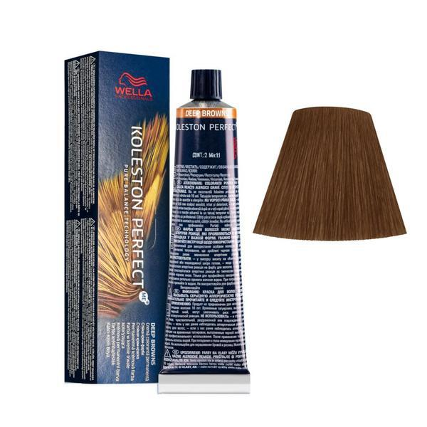 Vopsea Crema Permanenta - Wella Professionals Koleston Perfect ME+ Deep Browns, nuanta 7/71 Blond Mediu Maro Cenusiu poza