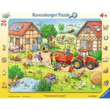 Puzzle mica mea ferma, 24 piese - Ravensburger