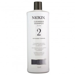 Sampon Par Fin Natural Dramatic Subtiat - Nioxin System 2 Cleanser Shampoo 1000 ml