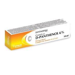 Crema cu D-Panthenol 6% Santaderm Vitalia, 50ml