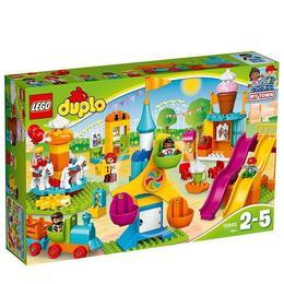LEGO Duplo 10840 - Parc mare de distractie pentru 2-5 ani