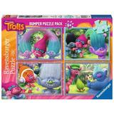 Puzzle trolls, 4x100 piese - Ravensburger