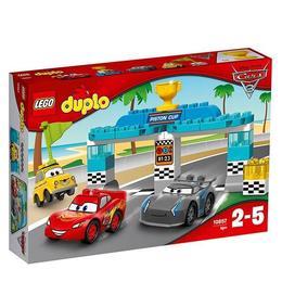 LEGO Duplo 10857 - Cursa pentru Cupa Piston pentru 2-5 ani