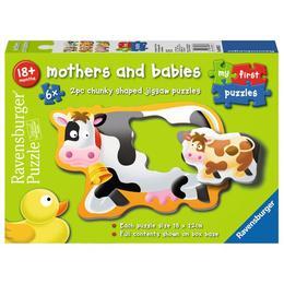 Puzzle mame si copilasi, 6x2 piese - Ravensburger