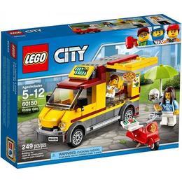 LEGO City 60150 - Furgoneta de pizza pentru 5 - 12 ani