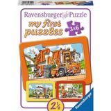 Puzzle masini, 3x6 piese - Ravensburger