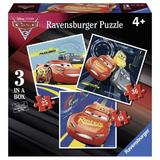 Puzzle cars, 25/36/49 piese - Ravensburger