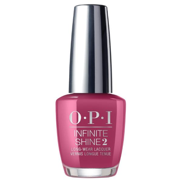Lac de Unghii - OPI Infinite Shine Lacquer, Aurora Berry-alis, 15ml imagine produs