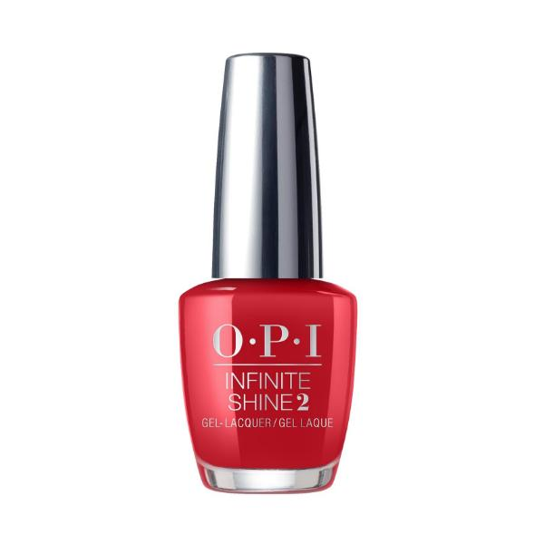 Lac de Unghii - OPI Infinite Shine Lacquer, Big Apple Red, 15ml imagine produs