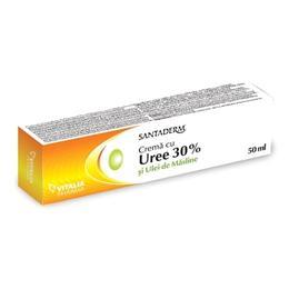 Crema cu Uree 30% Santaderm Vitalia, 50ml