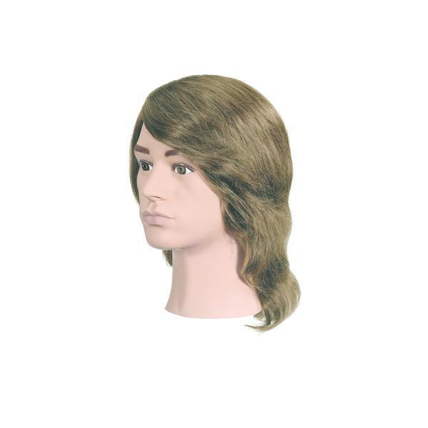 Manechin professional cu par 100 % natural Bergmann Boy fara barba pentru styling, tuns, examen, concurs Cod 004001