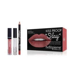 Set De Buze Kiss Proof Slay Kit Incognito - Bellapierre