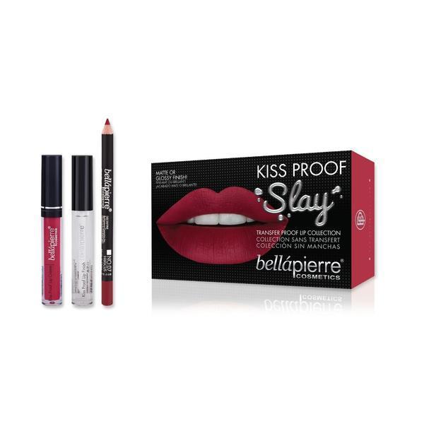 Set de buze Kiss Proof Slay Kit Hibiscus - BellaPierre imagine produs