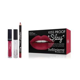 Set de buze Kiss Proof Slay Kit Hibiscus - BellaPierre