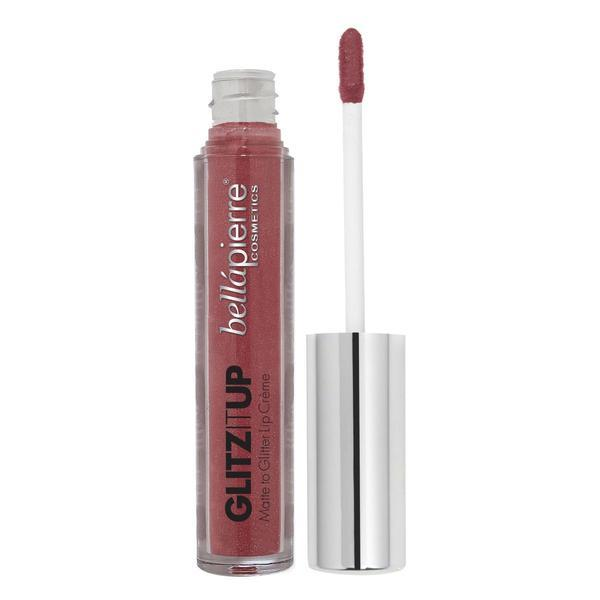 Ruj lichid mat cu microglitter Glitz it Up - Babe 3.8 g BellaPierre poza