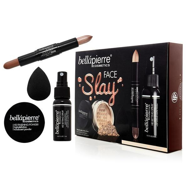 Set sculpt si fixare Face Slay Kit - Dark/Deep BellaPierre poza