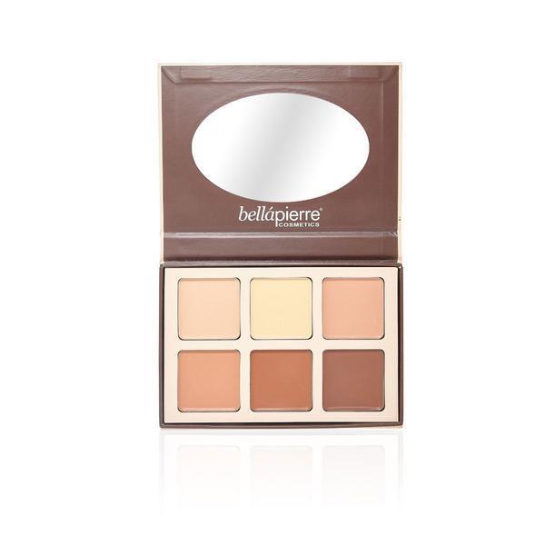 Paleta contur si iluminare Contour&Highlight Cream Palette - BellaPierre