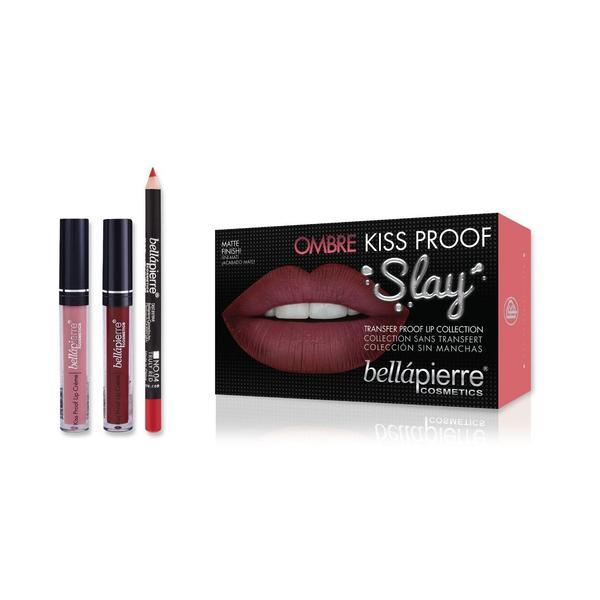 Set de buze Kiss Proof Slay Kit Ombre - BellaPierre imagine produs