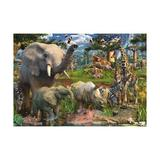 Puzzle animale in salbaticie, 18000 piese - Ravensburger