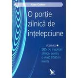 O portie zilnica de intelepciune Voil.1+2 - Alan Cohen, editura For You