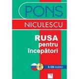 Pons rusa pentru incepatori + CD audio, editura Niculescu