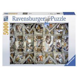 Puzzle capela sixtina, 5000 piese - Ravensburger