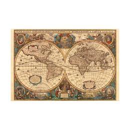 Puzzle harta antica a lumii , 5000 piese - Ravensburger