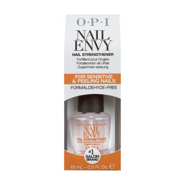 Tratament pentru Unghii Exfoliate si Sensibile fara Formaldehida - OPI Nail Envy Nail Strengthener For Sensitive & Peeling Nails Formaldehyde-Free, 15ml imagine produs