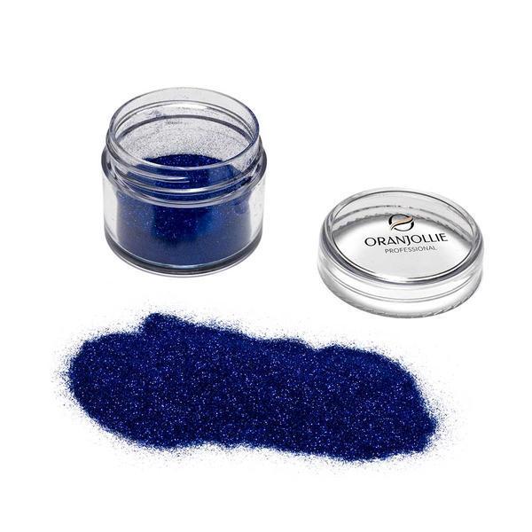 Pudra Glitter Diamond Sparkle Face&Body Electric Blue, Oranjollie Professional, 10 g imagine produs