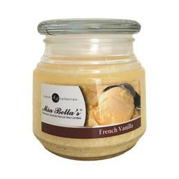 Lumanare Parfumata French Vanilla, Mia Bella's, 255 g de la esteto.ro