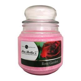 Lumanare Parfumata Rose Garden, Mia Bella's, 454 g de la esteto.ro