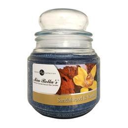 Lumanare Parfumata Sandalwood & Vanilla, Mia Bella's, 454 g